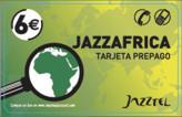 tarjeta telefonica prepago Jazz Africa