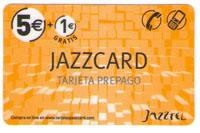 tarjeta telefonica prepago Jazzcard