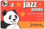tarjeta telefonica prepago Jazz Panda