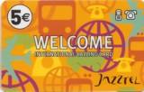 tarjeta telefonica prepago Welcome de Jazztel